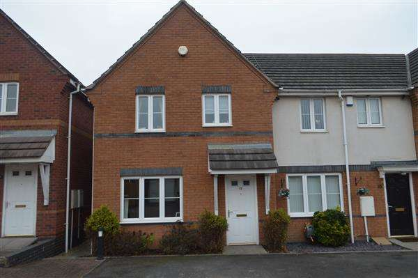 3 Bedrooms Town House for sale in Moorhen Close, Watermead Estate, Brownhills