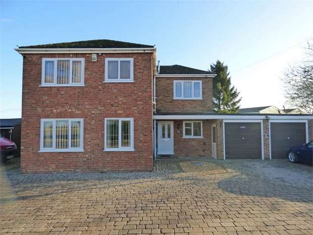 3 Bedrooms Detached House for sale in Broadgate, Weston Hills, Spalding, Lincolnshire