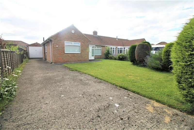 2 Bedrooms Semi Detached Bungalow for sale in Aycliffe Road, Marton-In-Cleveland, Middlesbrough