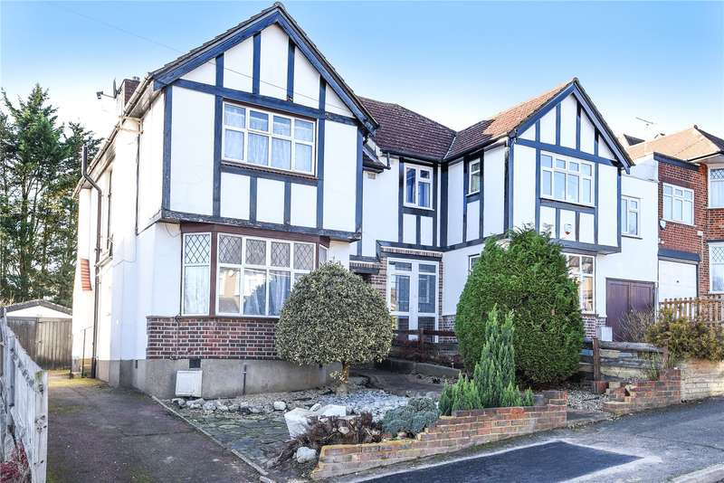 3 Bedrooms Semi Detached House for sale in Winchester Road, Northwood, Middlesex, HA6