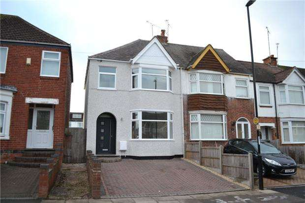 3 Bedrooms End Of Terrace House for sale in Dickens Road, Keresley, Coventry, West Midlands