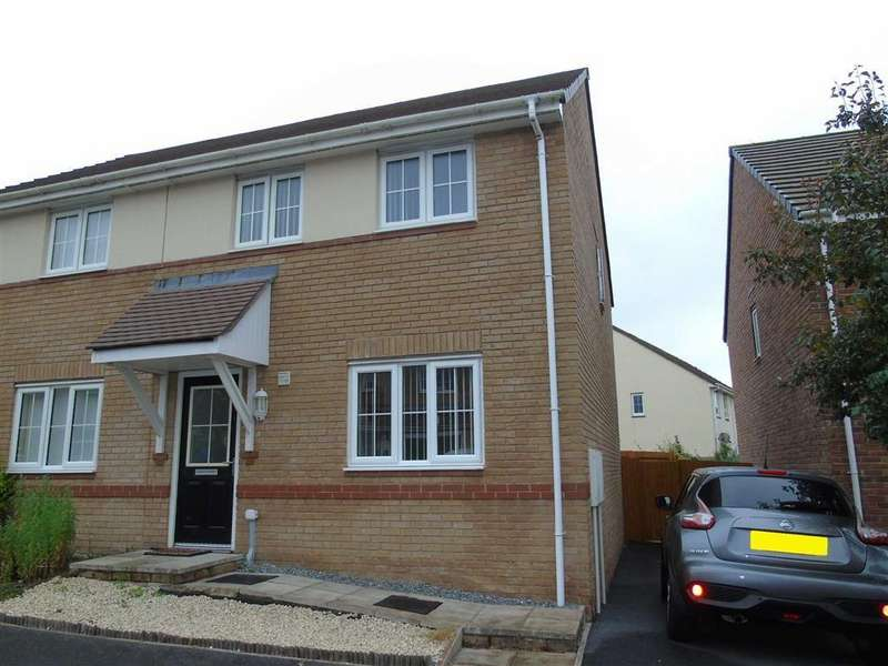 3 Bedrooms Semi Detached House for sale in Bryn Uchaf, Bryn, Llanelli