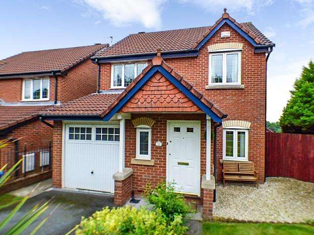 3 Bedrooms Detached House for sale in Pochard Rise, Norton, Runcorn