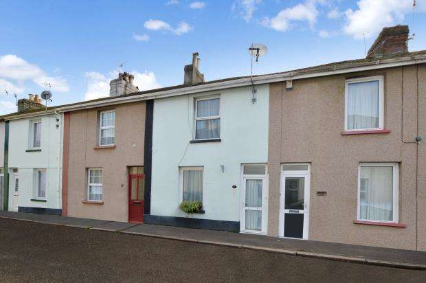 3 Bedrooms Terraced House for sale in Gladstone Place, Newton Abbot, Devon
