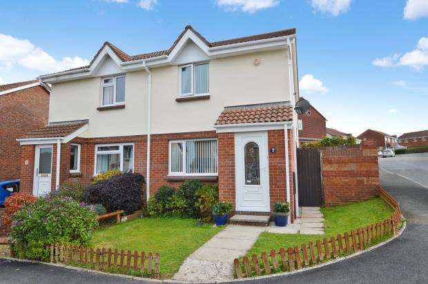 2 Bedrooms Semi Detached House for sale in Smallridge Close, Staddiscombe, Plymouth, Devon