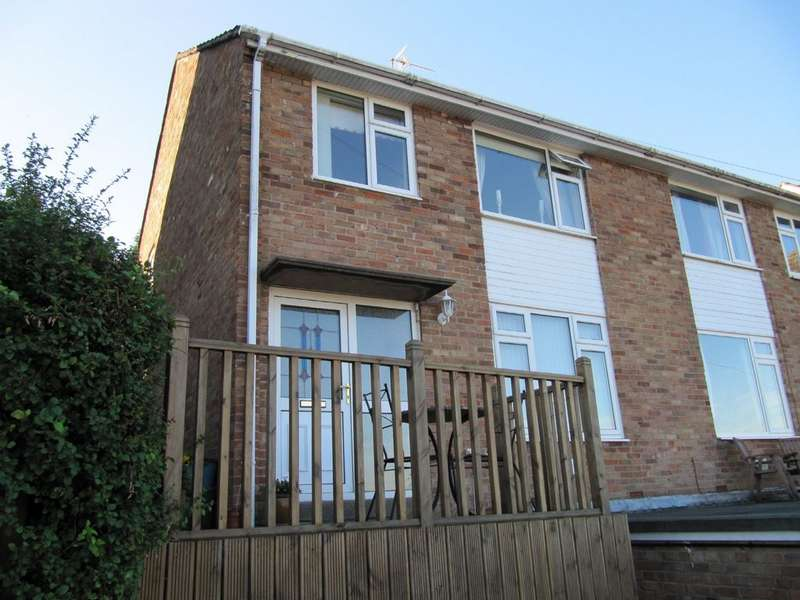 3 Bedrooms Semi Detached House for sale in Castle Park Close, Gaer, Newport NP20