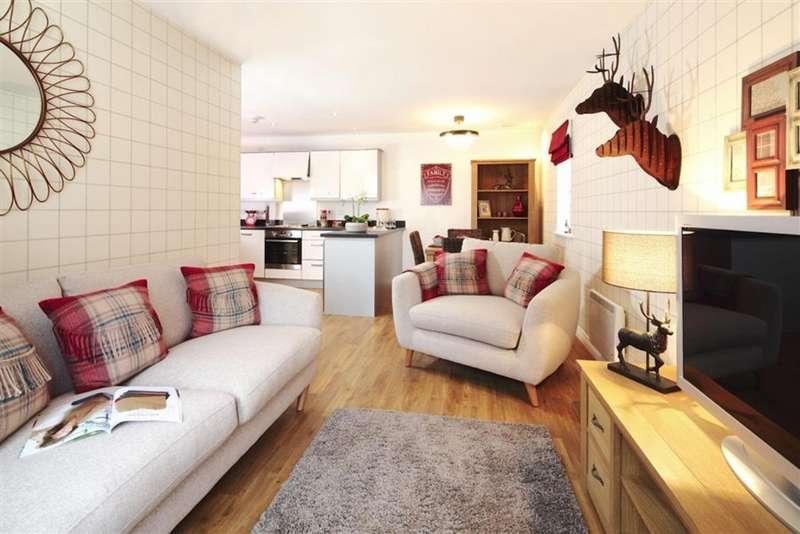 2 Bedrooms Apartment Flat for sale in Jack Mills Way, Shavington, Crewe CW2