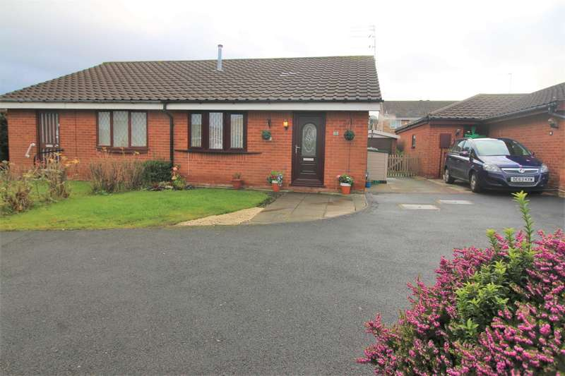 2 Bedrooms Semi Detached Bungalow for sale in Summerwood, Irby, Wirral, CH61 4YL