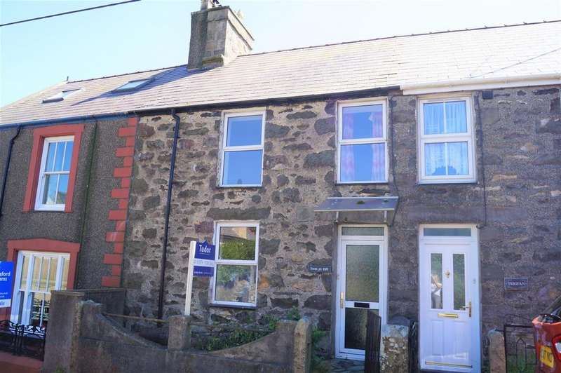 3 Bedrooms Terraced House for sale in Llithfaen