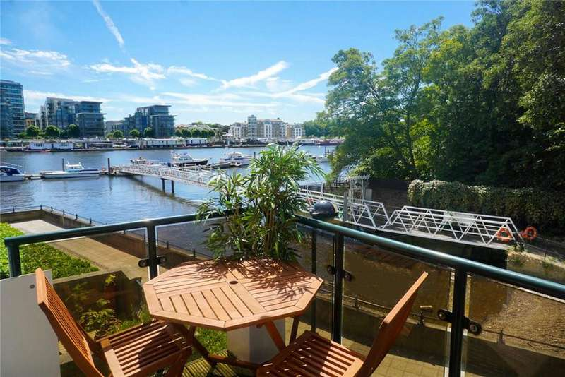 2 Bedrooms Flat for sale in Broomhouse Dock, London, SW6