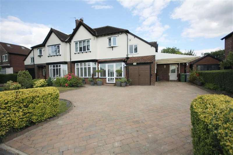 4 Bedrooms Semi Detached House for sale in Harboro Road, Sale