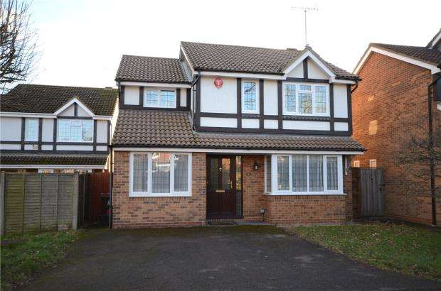 4 Bedrooms Detached House for sale in Merryweather Close, Wokingham, Berkshire