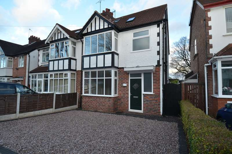 5 Bedrooms Semi Detached House for sale in Hannon Road, Kings Heath, Birmingham, B14