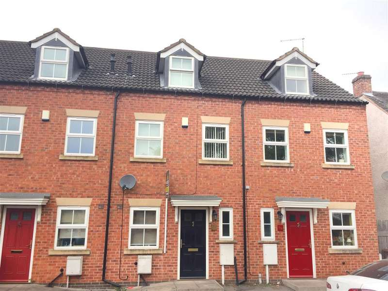 3 Bedrooms Semi Detached House for sale in Market Street, Church Gresley, Swadlincote
