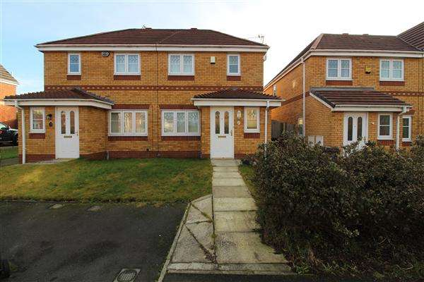 3 Bedrooms Semi Detached House for rent in Ambleside Drive, Kirkby