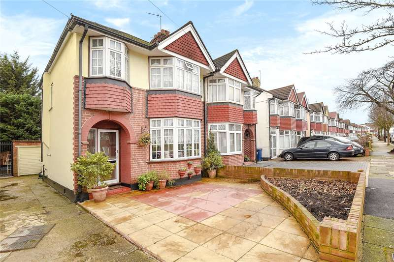 3 Bedrooms Semi Detached House for sale in Eskdale Avenue, Northolt, Middlesex, UB5