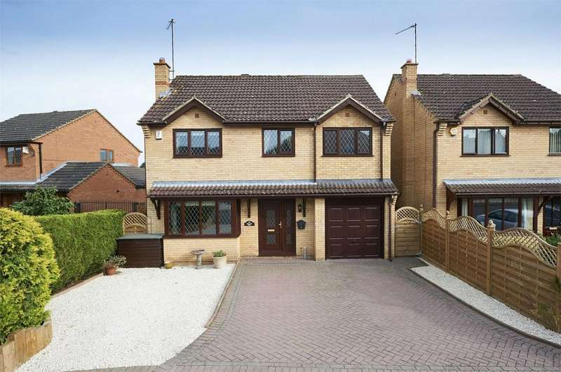 4 Bedrooms Detached House for sale in Cedar Close, Desborough, Kettering, Northamptonshire