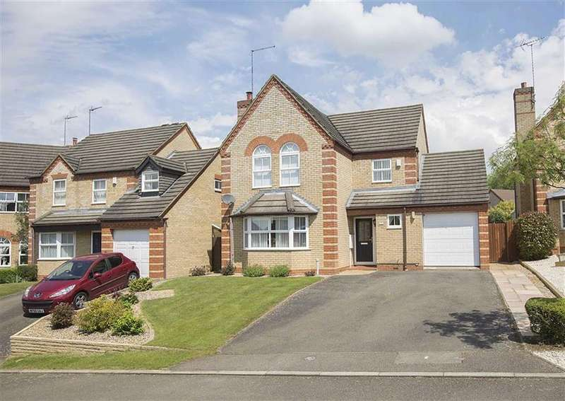 4 Bedrooms Detached House for sale in Norris Close, Barton Seagrave