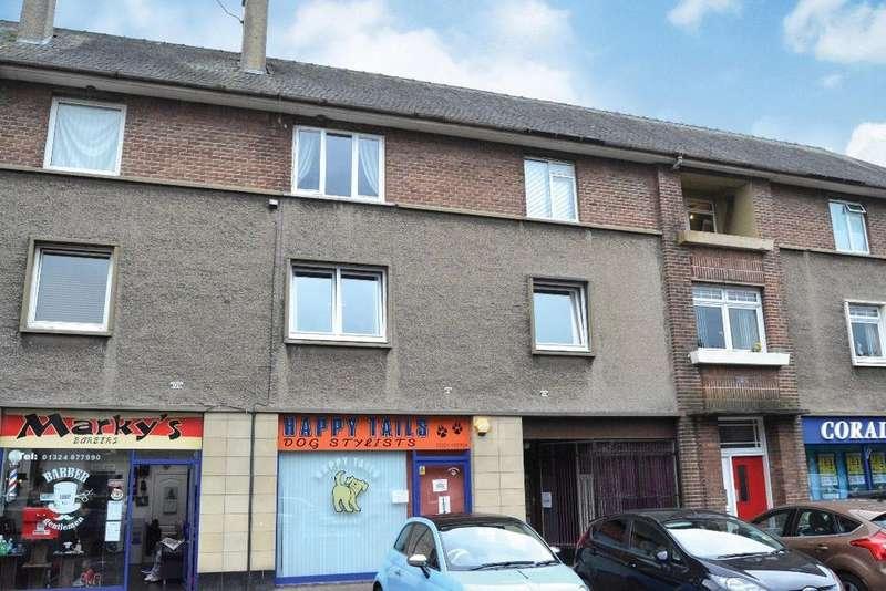 2 Bedrooms Flat for sale in Newlands Road, Grangemouth, Falkirk, FK3 8NU