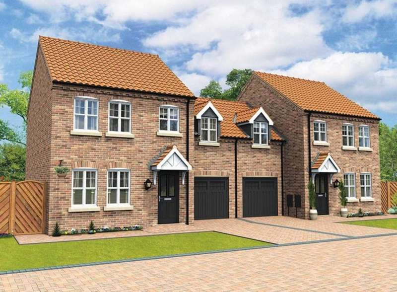 3 Bedrooms Semi Detached House for sale in Plot 161, The Butterwick, The Swale, Corringham Road DN21