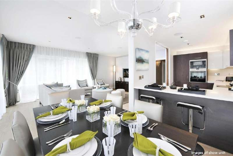3 Bedrooms Flat for sale in Dickens Yard, Vista Apartments, New Broadway, Ealing