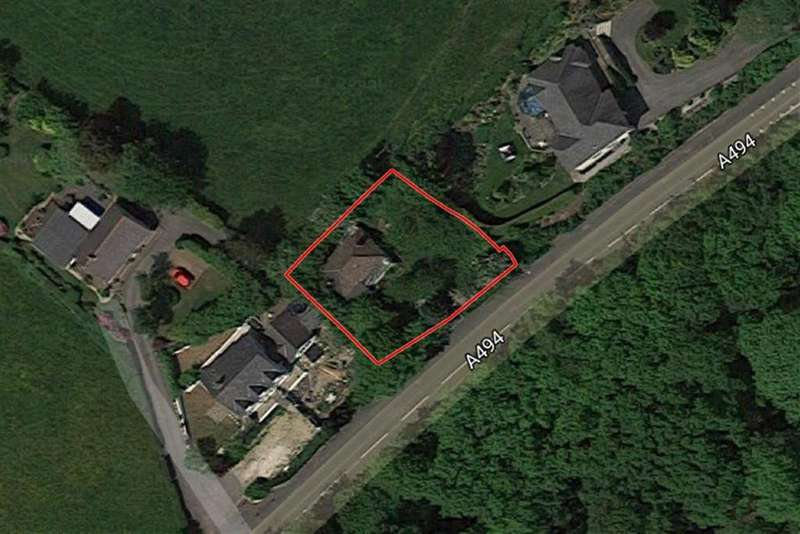 Land Commercial for sale in Ruthin Road, Loggerheads, Mold