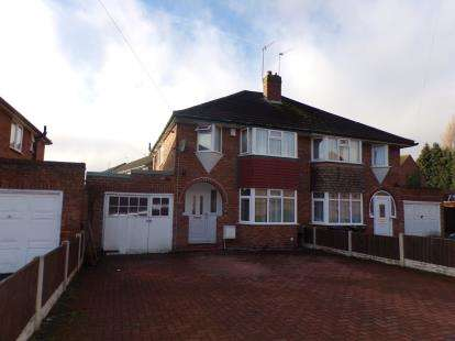 3 Bedrooms Semi Detached House for sale in Frederick Road, Selly Oak, Birmingham, West Midlands