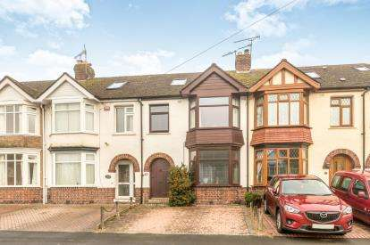 4 Bedrooms Terraced House for sale in Hanworth Road, Warwick, Warwickshire, .