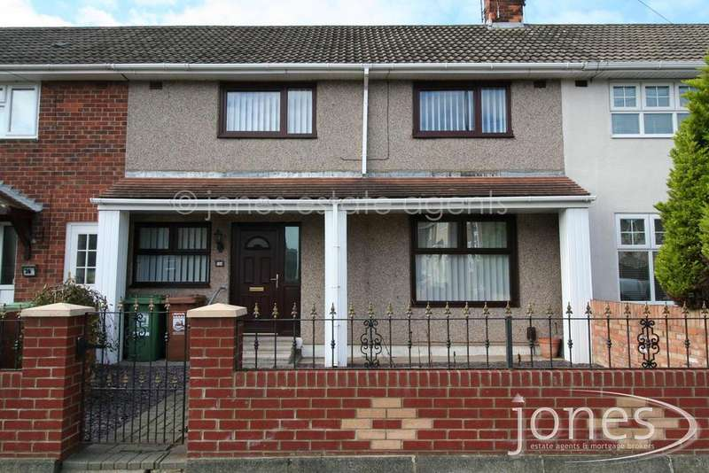 3 Bedrooms Terraced House for rent in Maxwell Road,Hartlepool, TS25 3QH