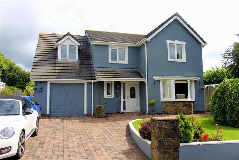 4 Bedrooms Detached House for sale in Ryelands Way, Kilgetty