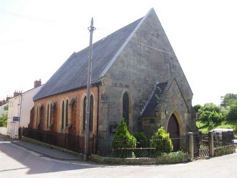 2 Bedrooms Residential Development Commercial for sale in Moreia Chapel, Brook Street, Llanfyllin, Powys, SY22