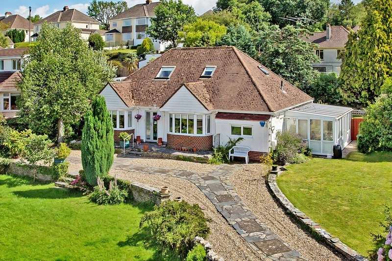 4 Bedrooms Detached Bungalow for sale in Aller Brake Road, Newton Abbot - Offers In Excess Of