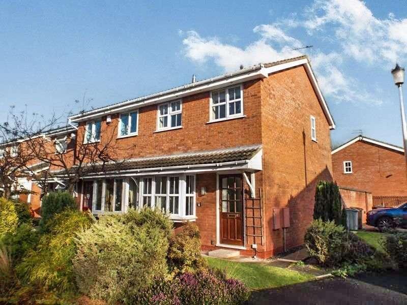 2 Bedrooms Semi Detached House for rent in Bessancourt, Holmes Chapel, Crewe, CW4