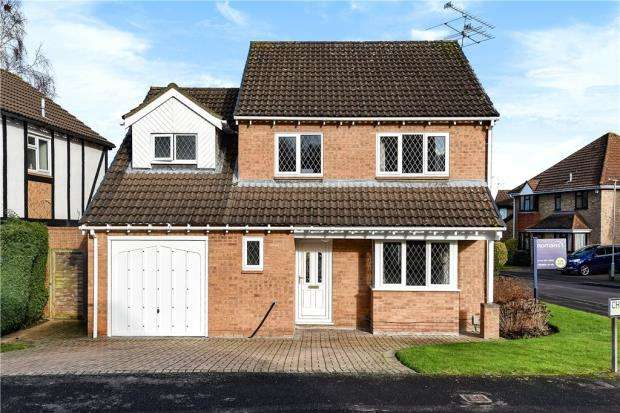 4 Bedrooms Detached House for sale in Chaucer Way, Wokingham, Berkshire