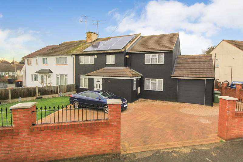 4 Bedrooms Semi Detached House for sale in EXTENDED and WELL PRESENTED 4 bed SEMI-DETACHED home with ENSUITE in Leighton Buzzard.