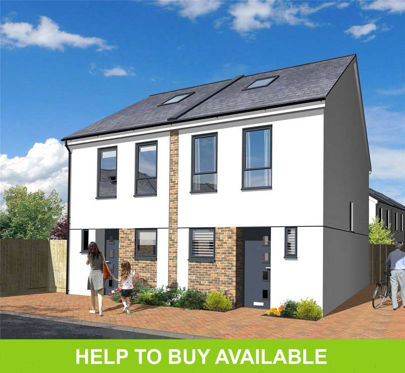 3 Bedrooms Semi Detached House for sale in Riverside View, Wandle Mill, Beddington