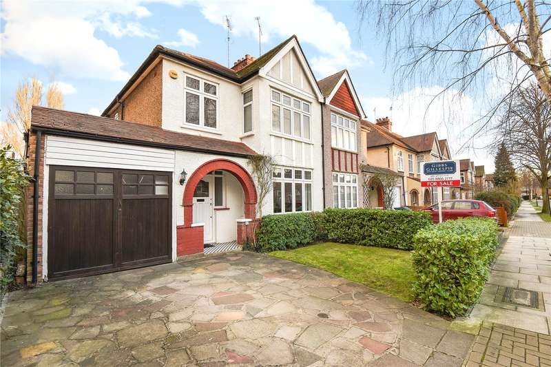 3 Bedrooms Semi Detached House for sale in Barrow Point Avenue, Pinner, Middlesex, HA5