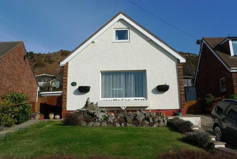 3 Bedrooms Detached Bungalow for sale in Bryn Seiriol, Deganwy