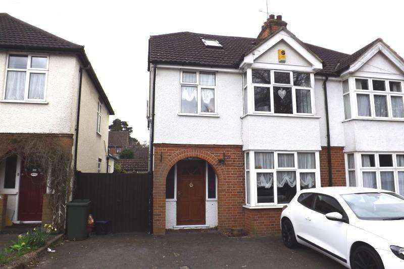 4 Bedrooms Semi Detached House for rent in Woodman Road, Brentwood, Essex, CM14 5AU