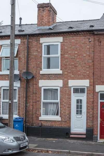 2 Bedrooms Terraced House for sale in Rutland Street, Derby, Derbyshire, DE23