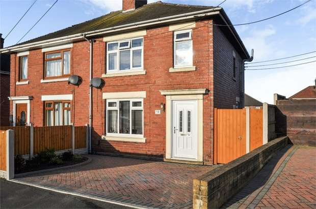 2 Bedrooms Semi Detached House for sale in Greenhill Road, Stoke-on-Trent, Staffordshire