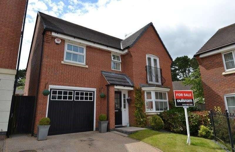 4 Bedrooms Detached House for sale in Brock Close, Rednal, Birmingham, B45