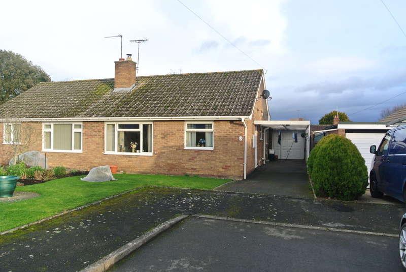 2 Bedrooms Semi Detached Bungalow for sale in Chestnut Close, Aldington