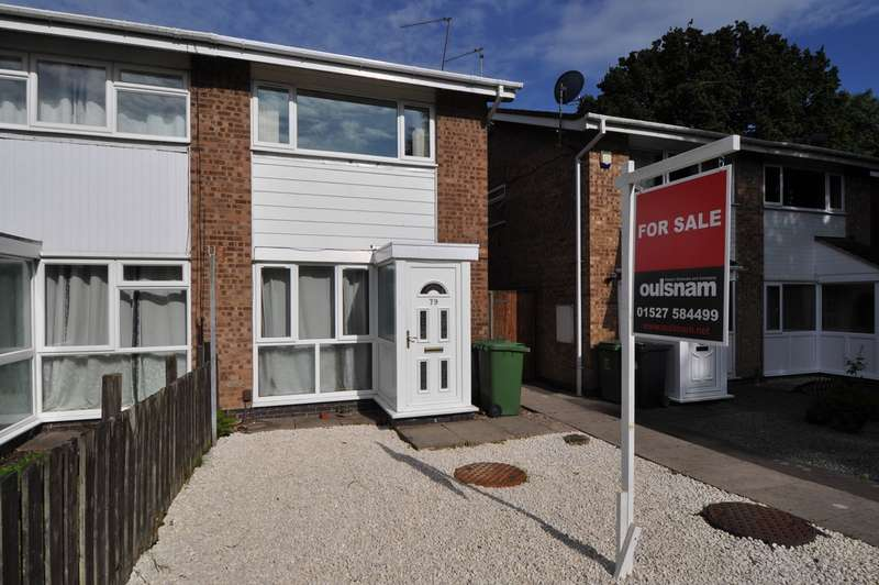 2 Bedrooms Semi Detached House for sale in Donnington Close, Redditch, B98