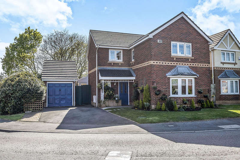 4 Bedrooms Detached House for sale in Mercury Way, SKELMERSDALE, WN8