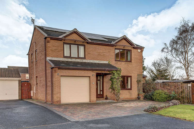 4 Bedrooms Detached House for sale in Kingfisher Close, ASHINGTON, NE63