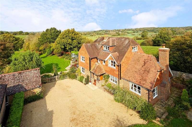 6 Bedrooms Detached House for sale in Coopers Lane, Penshurst, Tonbridge, Kent, TN11