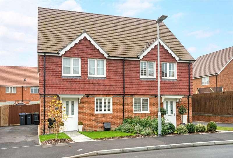 3 Bedrooms Semi Detached House for sale in Burden Drive, Bishopdown, Salisbury, Wiltshire, SP1