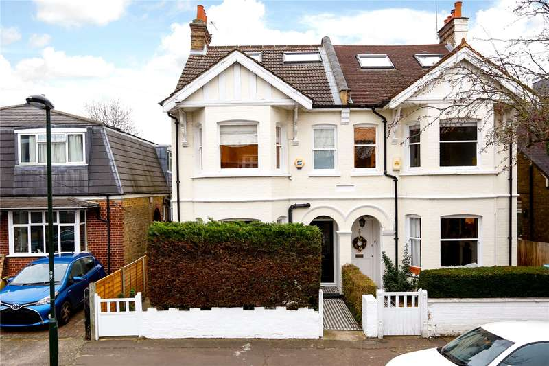 5 Bedrooms Semi Detached House for sale in Tudor Road, Hampton, TW12