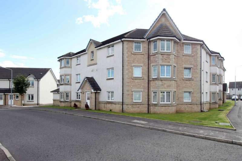 2 Bedrooms Ground Flat for sale in Harrier Court, Dunfermline, Fife, KY11 8JS